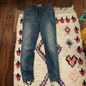 Madewell Highrise Skinny Jeans 29